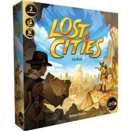 Lost cities : Le duel / Reiner Knizia | Knizia, Reiner