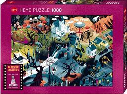 Puzzle Tim Burton : 1000 pièces | Clérisse, Alexandre (1980-...)